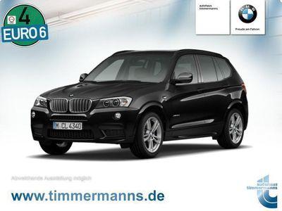 gebraucht BMW X3 xDrive35d M Paket HUD PANO NAVI Prof. VOLL
