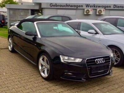 gebraucht Audi A5 Cabriolet 2.0 TDI S-line top Optik