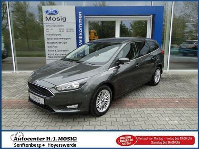 gebraucht Ford Focus Turnier Cool&Connect 1,0l EcoBoost, Business-Pake