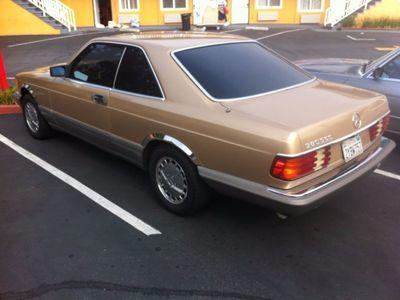 gebraucht Mercedes 380 SEC, US Import, mit 560 look