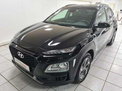 gebraucht Hyundai Kona 1.6 GDI DCT Hybrid Advantage+NAVI-KLIMAAUT.