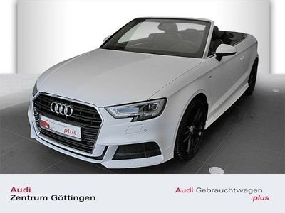 gebraucht Audi A3 Cabriolet S line sport 1.5 TFSI S tronic S ine Sportpaket