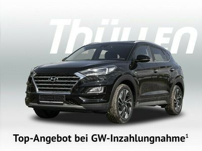 gebraucht Hyundai Tucson 2.0 CRDI 4WD Premium Mild-Hybrid Leder LED