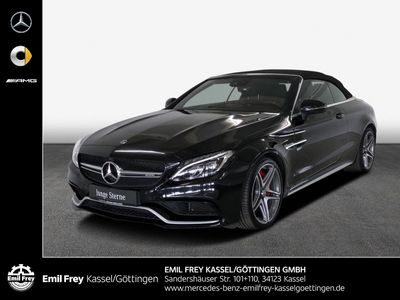 gebraucht Mercedes C63 AMG AMG S+Driver's+HiFi+360°+Leder schwarz/rot