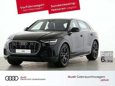 gebraucht Audi Q8 50 quattro INDIVIDUAL-SITZ AHK KAMERA AKUSTIK - Leder,Klima,Sitzheizung,Alu,Servo,Standheizung,AHK,