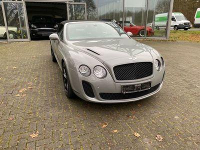 gebraucht Bentley Continental Supersport Cabrio*Keramik Bremse*