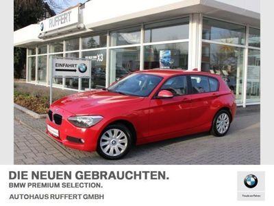 gebraucht BMW 114 d 5-Türer Klima Shz PDC