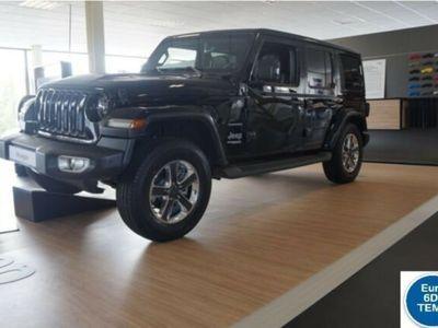 gebraucht Jeep Wrangler Unlimited JL 2.2 CRDi Sahara LED NAVI