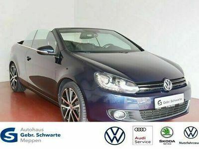gebraucht VW Golf Cabriolet VI 1.6 TDI XENON+LEDER+NAVI