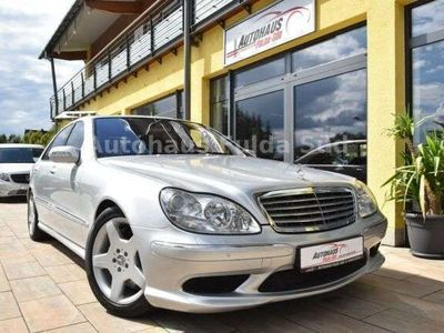 gebraucht Mercedes S600L Lim.°BRD°2.Hand°AMG Line°Bose°Navi°SH°