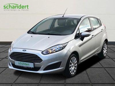 gebraucht Ford Fiesta TREND 1,25 Klimaanlage Radio CD el. Fensterheber uvm., Gebrauchtwagen bei Autohaus Schandert GmbH