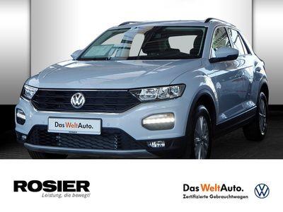 gebraucht VW T-Roc 1.0 TSI Style Navi ACC Spurh.Ass. SHZ Abst