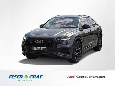 gebraucht Audi Q8 50TDI 3x S line /22'/Matrix/Pano/AHK/ACC/HuD