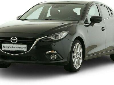 gebraucht Mazda 3 Sports-Line Xenon Navi HUD RFK SHZ FSE DAB LM