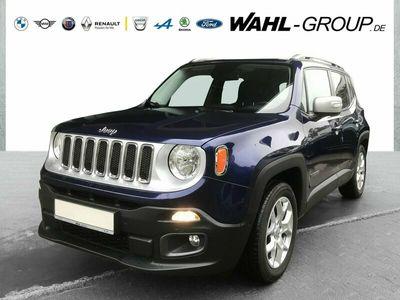 gebraucht Jeep Renegade Limited*KLIMAA*PDC*NAVIGATION*GARANTIE*