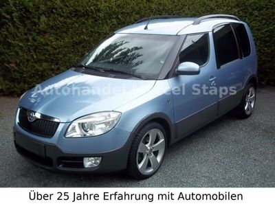 """gebraucht Skoda Roomster Scout 1,6 *Climatronic*17""""LM*PDC*1.Hand"""