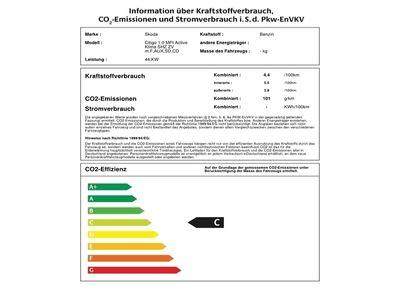 gebraucht Skoda Citigo 1.0 MPI Active Klima SHZ ZV m.F,AUX,SD,CD
