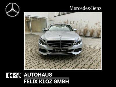 gebraucht Mercedes C220 BT T 4M Exclusive/Navi/9G-Tronic/LED/Klima