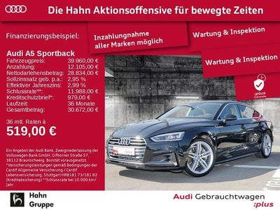 gebraucht Audi A5 Sportback sport 45 TFSI quattro 180 kW (245 PS) S tronic