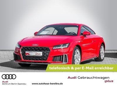 gebraucht Audi TT Coupé Coupe 40 TFSI*2x S line*S tronic *NAVI+*LED*