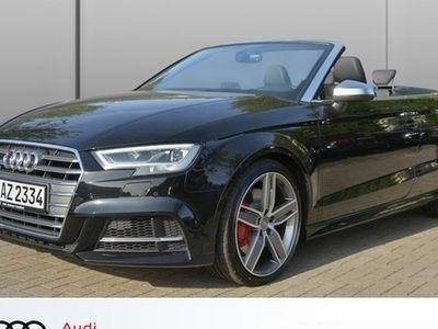 gebraucht Audi S3 Cabriolet 2.0 TFSI quattro S tronic LED B+O Tempo
