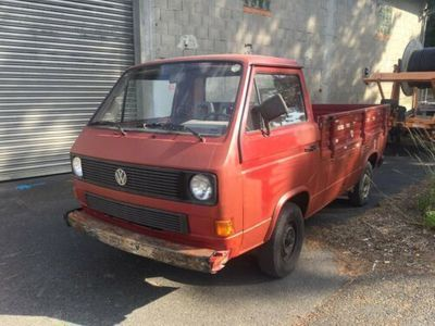used VW T3 Pritsche 2,1 WBX 95PS Kat