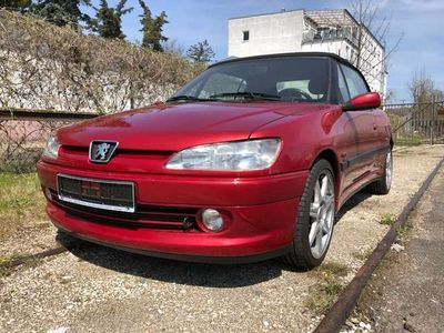 "gebraucht Peugeot 306 Cabriolet 2.0 El. Verdeck 17""Alu Radio-CD"