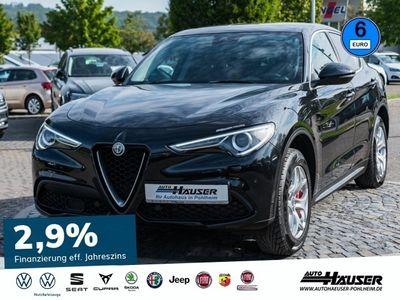 gebraucht Alfa Romeo Stelvio Super 2.0 Turbo AT8 Q4 SUPER NAVI KLIMA