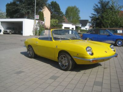 used Fiat 850 Sport Spider Bilder folgen!!!!!
