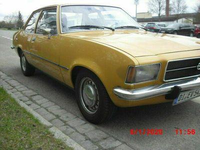 gebraucht Opel Rekord H- Kennzeichen, 2. Hand!