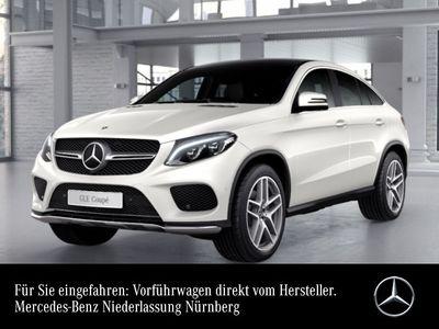 gebraucht Mercedes GLE350 d Cp. 4M AMG 360° Pano Harman Distr+ AHK