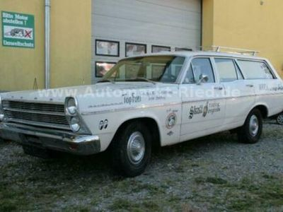 käytetty Ford Fairlane Ranch Wagon - orig. Drag Race Push Car!