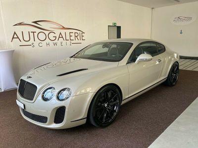 gebraucht Bentley Continental Supersports *Lückenlos Serv.