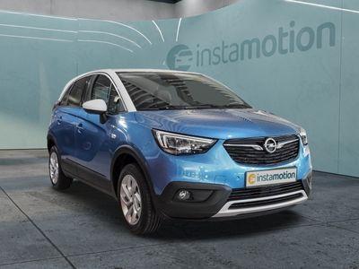gebraucht Opel Crossland X Crossland XINNOVATION 1.2 Turbo EU6d LED Kurvenlicht PDCv+h LED-hinten LED-Tagfahrlicht