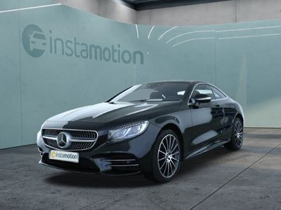 gebraucht Mercedes S560 5604Matic Coupe AMG Line Plus Massage Standhzg