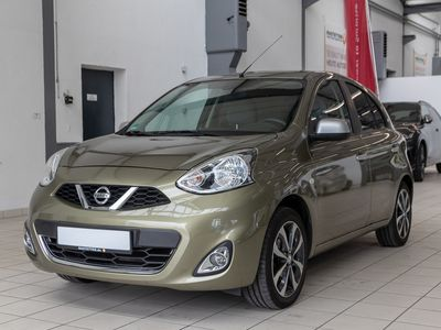 "gebraucht Nissan Micra ""1.2 n-tec Aut 5T Navi PDC Shzg Klimaauto"""