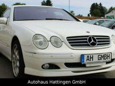 gebraucht Mercedes 500 CL-Coupe 500/1.Hand/Klima/PDC