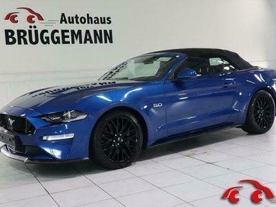 gebraucht Ford Mustang GT CABRIO 5,0 V8 AUTO. NAVI LED LEDER LM19