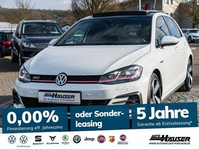 gebraucht VW Golf VII GTI 2.0 TSI OPF DSG GTI NAVI STANDHZG.