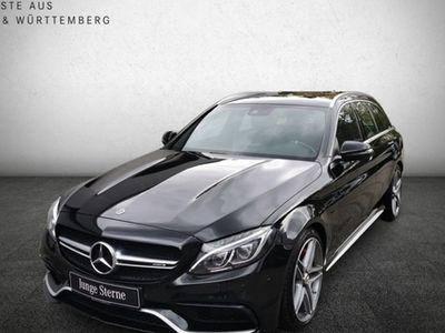 gebraucht Mercedes C63S AMG AMG T DRIVER+PERF.ABG&LENK+AHK+KAMERA+ILS