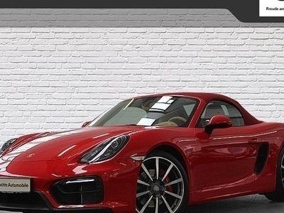 gebraucht Porsche Boxster GTS Spyder DAB Xenon Klimaaut. PDC