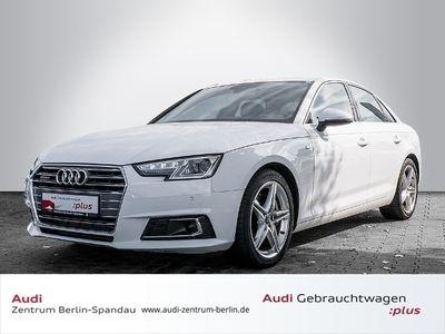 gebraucht Audi A4 Limousine 3.0 TDI EU6 S line tipt. *HUD*NAVIplus*VC*