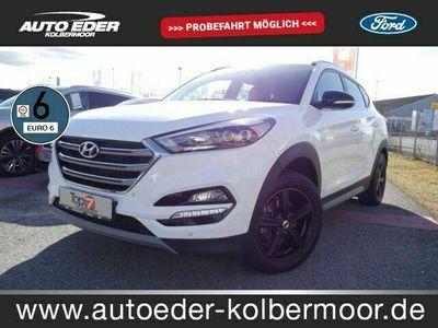 gebraucht Hyundai Tucson 1.6 Passion 4WD Bluetooth Navi LED Klima