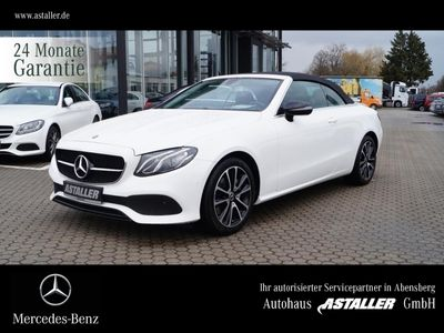 gebraucht Mercedes E200 Cabriolet Avantgarde+Night+Navi+Business+