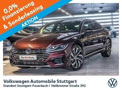 gebraucht VW Arteon R-Line 2.0 TSI DSG Navi ACC DCC Standheizung LED Kamera