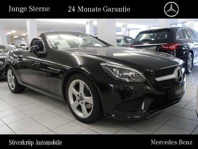 gebraucht Mercedes 180 SLCPANO+LED+TOTWINKELAS+NAVI+AIRSCARF-CAP