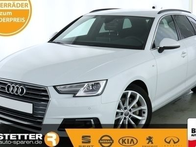 gebraucht Audi A4 Avant S tronic sport quattro S-line Tour Stadt virtCP MMI Navi Standhzg Kamera SHZ
