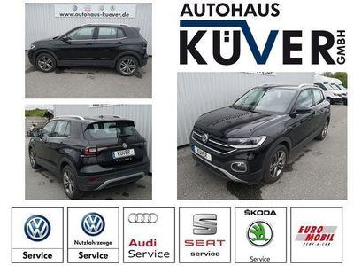 gebraucht VW T-Cross - 1,0 TSI Style DSG Navi ACC LED SHZ Alu17