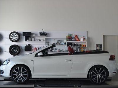gebraucht VW Golf Cabriolet VI LOUNGE 1.6 TDI *Leder/Xenon/Na