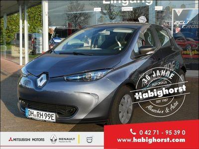 gebraucht Renault Zoe LIFE 40 (Batteriemiete) - titanium grau -